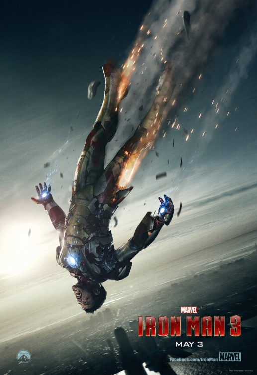 Iron Man 3 - Takes a fall